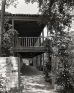 Exterior view of Rancho Los Cerritos.