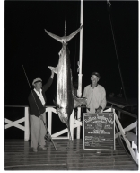 Lily Call, Capt. Ray Call (Marlin catch)