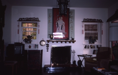 The interior of China House.