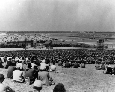 1953 National Boy Scout Jamboree on Irvine Ranch.