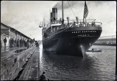 Great Northern, Pacific Steamship Company; stern view