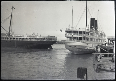Harvard, Pacific Navigation Company; stern view
