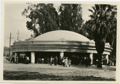 Herschell-Spillman merry-go-round in Eastlake Park (1917, name changed to Lincoln Park)
