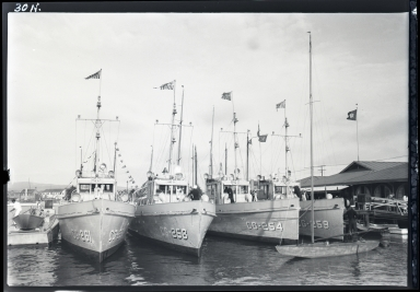 Coast Guard Cutter Docks