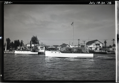 Ferry landing site, Island Boat House, J.A. Beek office, market