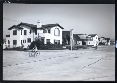 Homes, bike riders