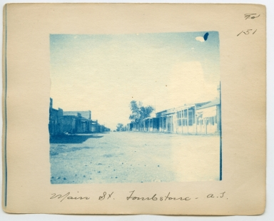 Main St. Tombstone, Arizona Territory