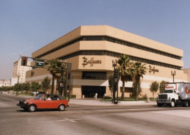 An exterior view of the Buffums Long Beach Blvd. location.