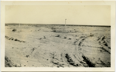 Corner of 1st & A Streets, Bombay Beach (Salton Sea?)
