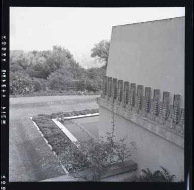 Olive Hill Estate of Aline Barnsdall.  The structure was designed by Frank Lloyd Wright and constructed in 1922.  It is known as The Hollyhock House.