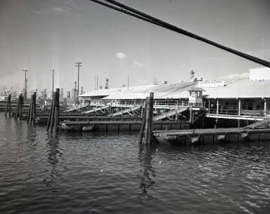 U.S. Navy personnel on cruisers, battleships, oilers and all Navy ships in Long Beach Harbor came to and went from this landing on Pico Street before the Terminal Island Naval Facility was built when there was no dry dock, no Navy shipyard nor station.