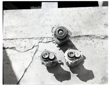 Odd pieces of metal & gears