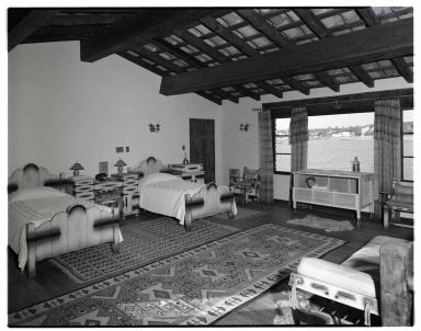 View of the interior of an unidentified house.