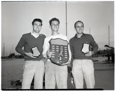 Winners of the Pacific Coast Intercollegiate Races, Dinghy Championship.