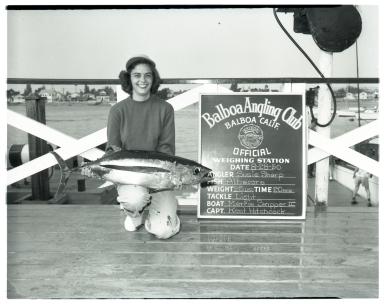 Susie Sharp (Albacore catch)