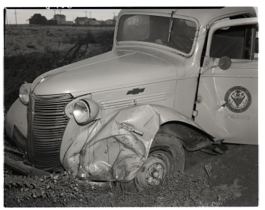 Various accidents and wrecked vehicles