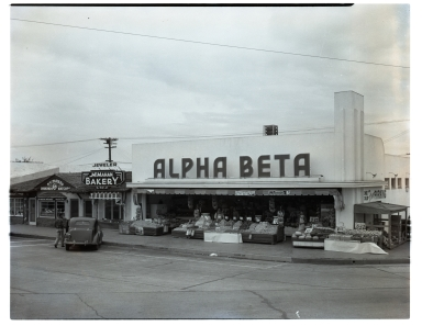 Alpha Beta grocery store.