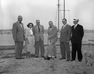 Ground breaking new P.A. Palmer office