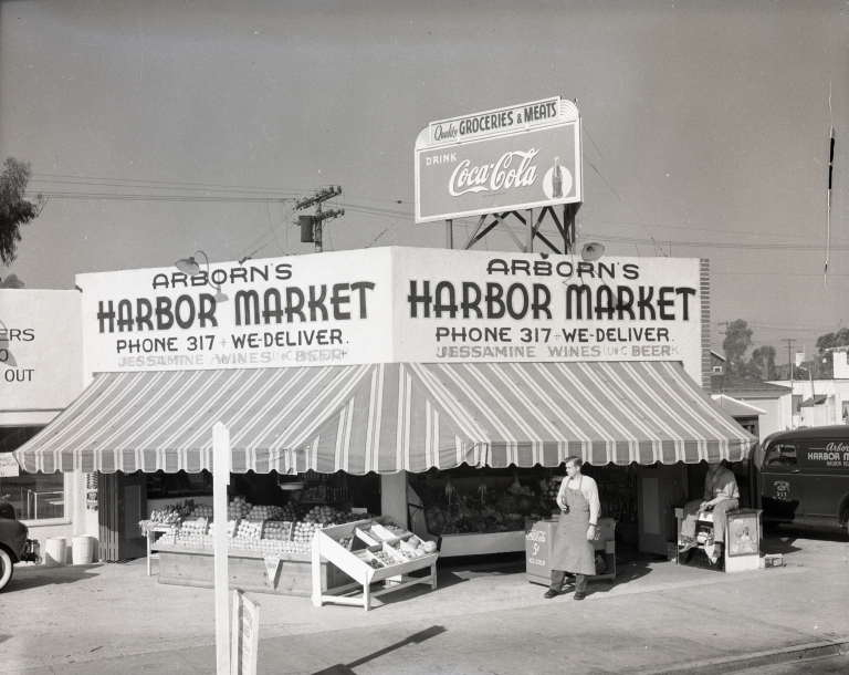 Arborn's Harbor Market on Balboa Island.