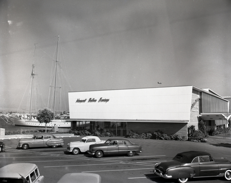 Newport Balboa Savings and Loan – building views (per Wilder)